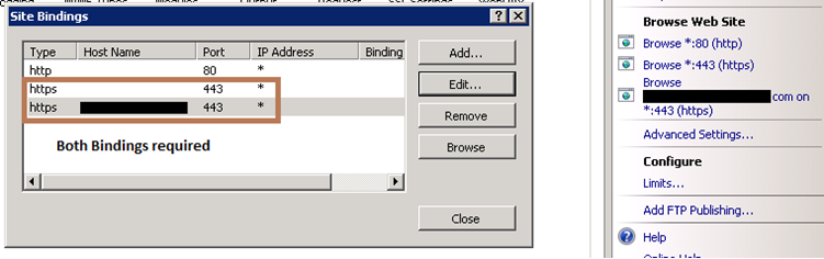 IIS 7 5 & Binding Wild Card Certificate Issue - Sudarshan's Blog